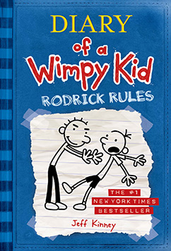Cover for Rodrick Rules (Diary of a Wimpy Kid #2)
