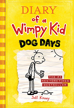 Cover for Dog Days (Diary of a Wimpy Kid #4)