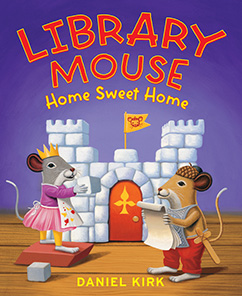 Cover for Library Mouse: Home Sweet Home