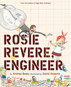 Cover for Rosie Revere, Engineer