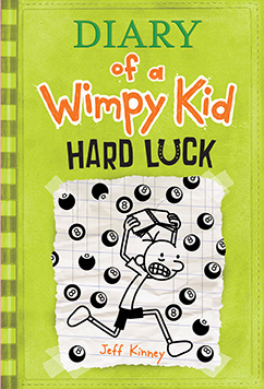 Cover for Hard Luck (Diary of a Wimpy Kid #8)