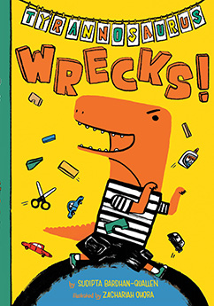 Cover for Tyrannosaurus Wrecks!