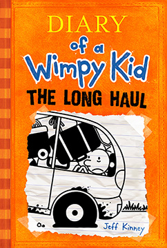 Cover for Long Haul (Diary of a Wimpy Kid #9)