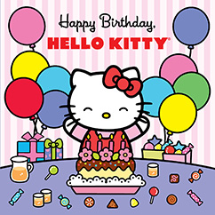 Cover for Happy Birthday, Hello Kitty