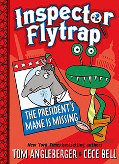 Cover for Inspector Flytrap in The President's Mane Is Missing (Book #2)