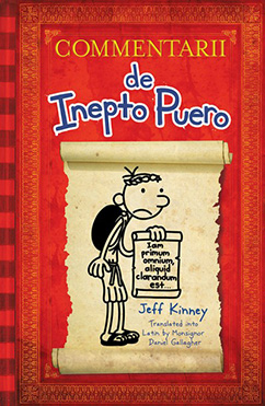 Cover for Diary of a Wimpy Kid Latin Edition