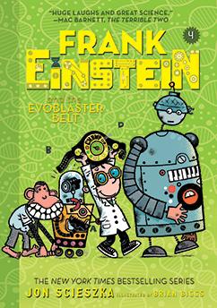 Cover for Frank Einstein and the EvoBlaster Belt (Frank Einstein series #4)