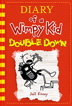 Cover for Double Down (Diary of a Wimpy Kid #11)
