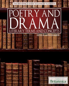 Cover for Poetry and Drama: Literary Terms and Concepts