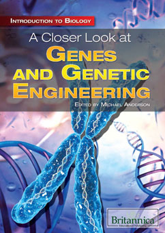 Cover for A Closer Look at Genes and Genetic Engineering