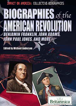 Cover for Biographies of the American Revolution