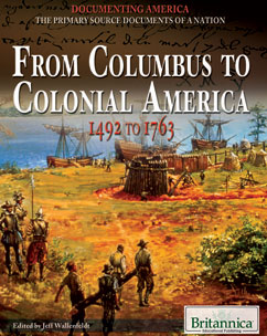 Cover for From Columbus to Colonial America: 1492 to 1763