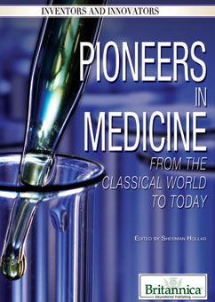 Cover for Pioneers in Medicine: From the Classical World to Today