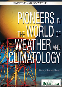 Cover for Pioneers in the World of Weather and Climatology