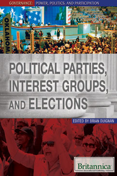 Cover for Political Parties, Interest Groups, and Elections