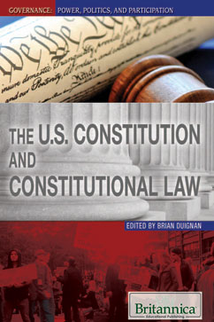 Cover for The U.S. Constitution and Constitutional Law