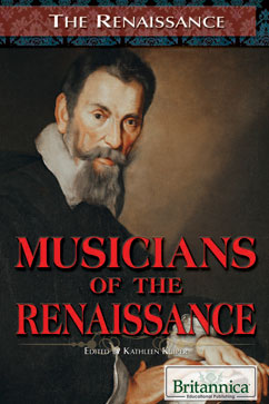 Cover for Musicians of the Renaissance