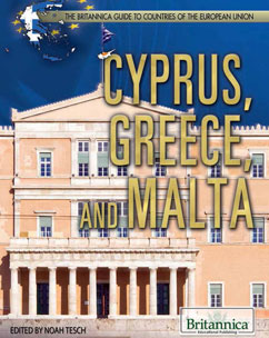Cover for Cyprus, Greece, and Malta