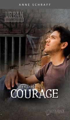 Cover for Time of Courage