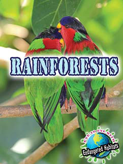 Cover for Rainforests
