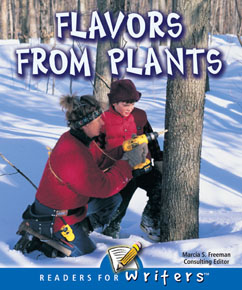 Cover for Flavors From Plants