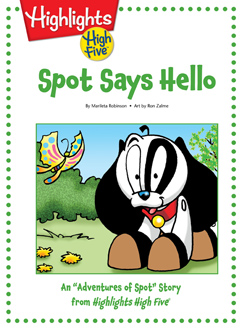Cover for Spot Says Hello!