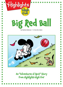 Cover for Big Red Ball