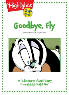 Cover for Goodbye, Fly