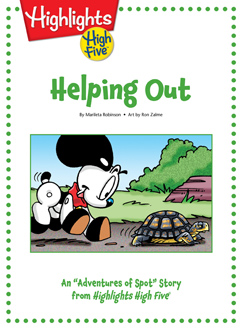 Cover for Helping Out