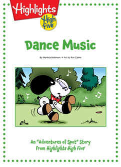 Cover for Dance Music
