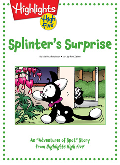 Cover for Splinter's Surprise