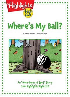 Cover for Where's My Ball?