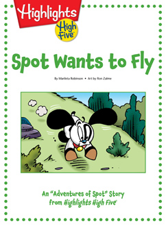 Cover for Spot Wants to Fly