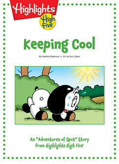 Cover for Keeping Cool