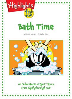 Cover for Bath Time