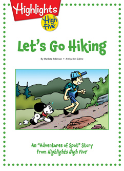 Cover for Let's Go Hiking