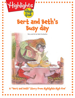 Cover for Bert and Beth's Busy Day