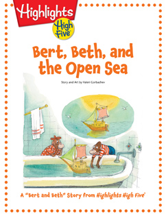 Cover for Bert, Beth, and the Open Sea