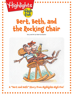 Cover for Bert, Beth, and the Rocking Chair