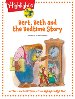 Cover for Bert, Beth, and the Bedtime Story