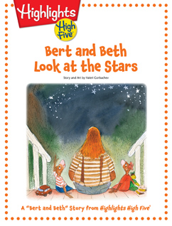 Cover for Bert and Beth Look at the Stars