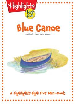 Cover for Blue Canoe