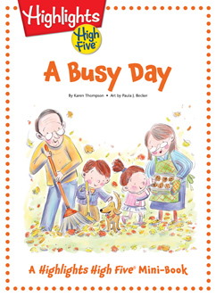Cover for A Busy Day