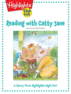 Cover for Reading with Catty Jane