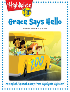 Cover for Grace Says Hello