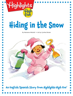Cover for Hiding in the Snow