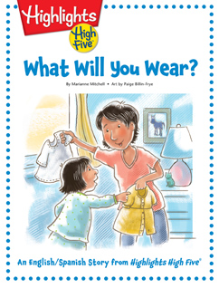 Cover for What Will You Wear?