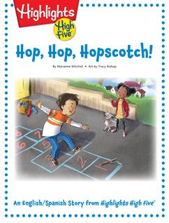 Cover for Hop, Hop, Hopscotch!