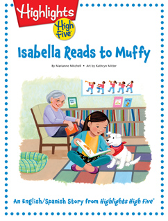 Cover for Isabella Reads to Muffy