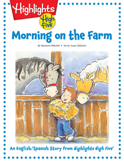 Cover for Morning on the Farm